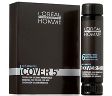 3 X 50 ml L'OREAL COVER 5 Gel For Men Hair Color №4  №5  №6  №7 Free Shipping
