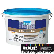 """3 x 12.5 LHerbol Symbiotec  matte Nano Premium-Fassadenfarbe """"Nanoschutz"""""""