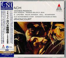 NIKOLAUS HARNONCOURT-J.S.BACH: JOHANNES-PASSION (1993 RECORDING)-JAPAN 2 CD F04