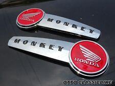 Honda Monkey Monkeybike Gorilla Z50 Z50J EMBLEM RED FUEL TANK L/R // a pair