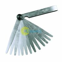 METRIC 17 Blade FEELER GAUGE 0.02mm-1mm Guage Measure .-UKYQL- M0O0