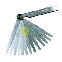 METRIC 17 Blade FEELER GAUGE 002mm 1mm Guage Measure New L5Y0
