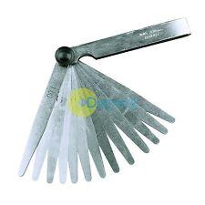 METRIC 17 Blade FEELER GAUGE 0.02mm-1mm Guage Measure