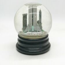 More details for vintage new york city nyc usa christmas musical moving snow globe saks fifth ave