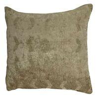 "Luxury Gold Geometric Chenille Cushion Covers Shop 18x18"" / 45x45cm"