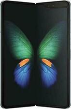 "Unlocked Samsung Galaxy Fold SM-F900U 512GB 7.3"" 12GB RAM AT&T Silver GSM Phone"