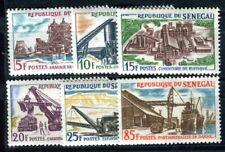 SENEGAL 1964 Yvert 235-240 ** POSTFRISCH TADELLOS INDUSTRIEGEBÄUDE (F4112