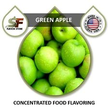 Green Apple Flavor Drops Flavoring Concentrate - 1oz/30ml - SageFox - FL050