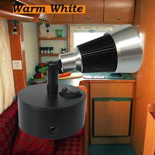 12 Volt LED Reading Lights for Motorhome Marine Swivel Black Nickel Wall Mounted