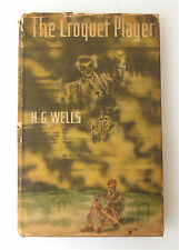 The Croquet Player by H. G. Wells-1937 1st.  Ed. Book The Viking Press New York