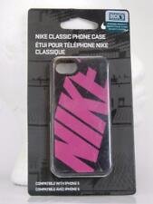 Iphone 5 Classic Nike Soft Phone Case Black Pink NEW $25