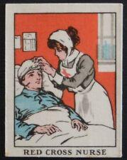RED CROSS NURSE Women on War Work issued 1910-1915 HAPPY HOME SILK