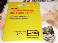 yesss! Austria Pre-Paid SIM Karte von A1 Telekom Österreich NEU + Guthaben