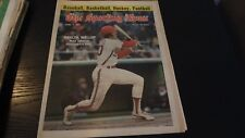 APRIL 2, 1977 THE SPORTING NEWS NEWSPAPER AUTOGRAPHED BY MIKE SCHMIDT