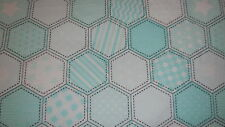 SNUGGLE FLANNEL MINT QUILT PATTERN 1 YARD BTY