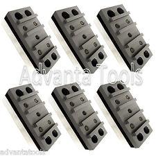 6PK Diamond Grinding Polishing Blocks for Concrete Floor Grinders 30/40 Grit
