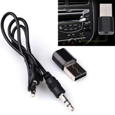 Negro Bluetooth USB Receptor 3.5mm Receptor Estéreo Audio Música para iPhone MP3