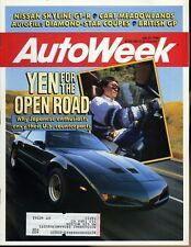 AutoWeek Magazine July 23, 1990 Nissan Skyline GT-R AutoFile:Diamond-Star Coupes