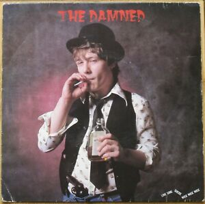 """THE DAMNED - LOVE SONG 7"""" VINYL PICTURE SLEEVE"""