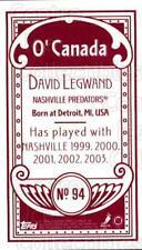 2003-04 Topps C55 Minis O Canada Red #94 David Legwand