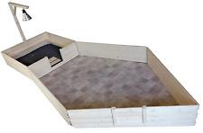 Wurfkiste 120 x 120 mit Auslauf 180 x 180, Wärmelampe und Galgen Wurfbox, Welpen