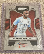 2018 Panini Prizm World Cup Soccer Raheem Sterling England