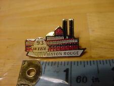 VTG BOWLING PIN PINBACK - 93' WIBC BATON ROUGE