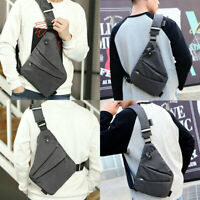 Crossbody Chest Bag Pocket Shoulder Bag Waterproof Personal Men Business Gifts