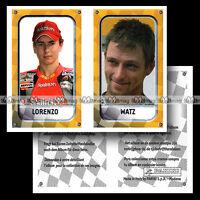 #pngp05.169-146 ★ Pilotes JORGE LORENZO & FREDERIK WATZ ★ Panini Moto GP 2005