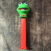 Vintage Kermit the Frog Muppet Pez Dispenser Made In Hungary Vtg