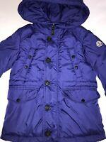 Moncler Boys Blue Coat Age 5 (VGC)