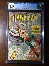 Hawkman #4 (1973) - 1st Zatanna! - CGC 3.5 - Key!