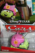 "DISNEY PIXAR CARS 2 ""YUKIO"" SUPER CHASE, NIP, LIMITED TO 4000 UNITS PRODUCED"
