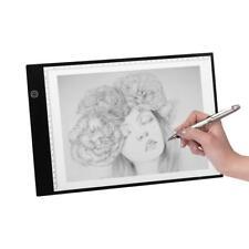 A4 LED Drawing Board Tracing Light Box Tattoo Art Stencil Slim Artist Pad 3 Mode
