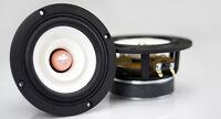2 pcs MS Audio 4 Inch Full Range Speaker pair--- 4 Ohm Version