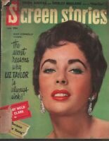 Screen Stories April 1960 Elizabeth Taylor Mike Connolly Frank Sinatra 110119AME