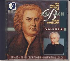J.S. Bach - Jean Guillou: The Organ Works, Vol. 5 (Dorian) Like New