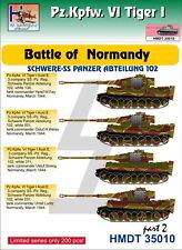 H-Model Decals 1/35 Pz.Kpfw.VI Tiger I Battle of Normandy (Schwere SS-Pz. Abt.10