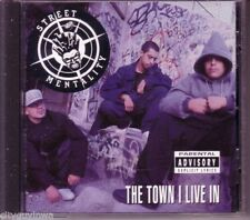STREET MENTALITY The Town I Live Rare CD Mexican California Hip Hop Rap. 1992
