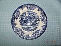 Royal Stafford Coaching Scenes 8 Inch Lunch/Salad Plate Made in England