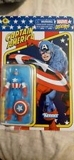 "Hasbro Marvel Legends Retro 3,75"" Captain America Unpunched"
