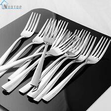 Dinner Forks Set 12 Piece Heavy Duty Tableware Cutlery Flatware Stainless Steel
