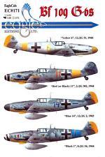 EagleCals Decals 1/48 MESSERSCHMITT Bf-109G Fighter Collection Part 1