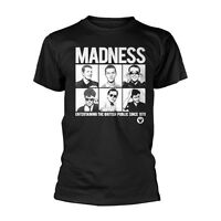 Official T Shirt MADNESS Ska Band 'Entertaining Since 1979' All Sizes