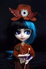 Custom Groove Mio Isul artista steampunk Azul Púrpura Odd Ojo Niño Muñeca Conjunto Completo