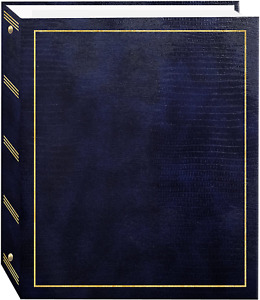 Pioneer Photo Albums Magnetic Self-Stick 3-Ring Photo Album 100 Pages (50 Sheets