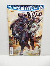 All-Star Batman DC Comic Book #2 Scott Snyder John Romita Cover Universe Rebirth