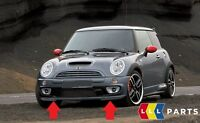 NEW GENUINE MINI R50 R52 S R53 JCW GP FRONT BUMPER SPOILER BLACK 7182622