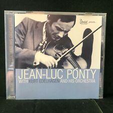 JEAN-LUC PONTY WITH KURT EDELHAGEN 2001 JAZZ CD