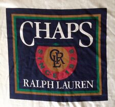 VINTAGE 90'S RALPH LAUREN CHAPS-SPIRITED TRADITION-2 SIDED T-SHIRT-XL-RARE-USA